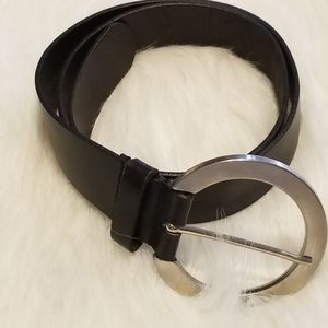 New York Company Black Silver Belt